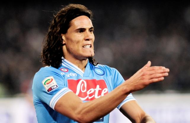S.S.C. Napoli president Aurelio De Laurentiis has confirmed Chelsea are interested in highly-rated Uruguay international striker Edinson Cavani.