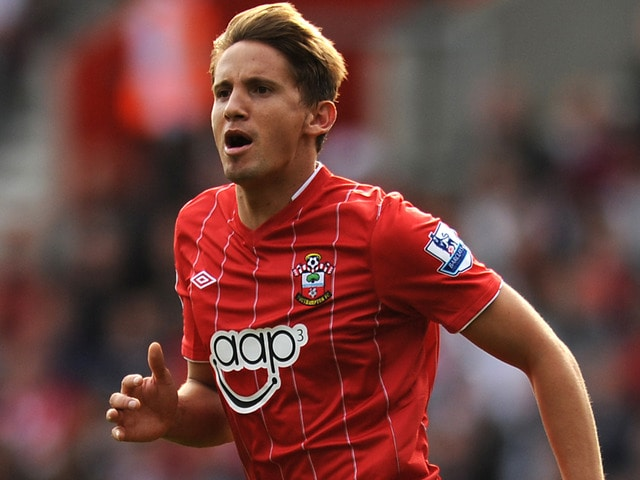 Southampton No. 10 Gaston Ramirez has insisted he is happy at the club amid reported interest from Italian Serie A side Fiorentina.
