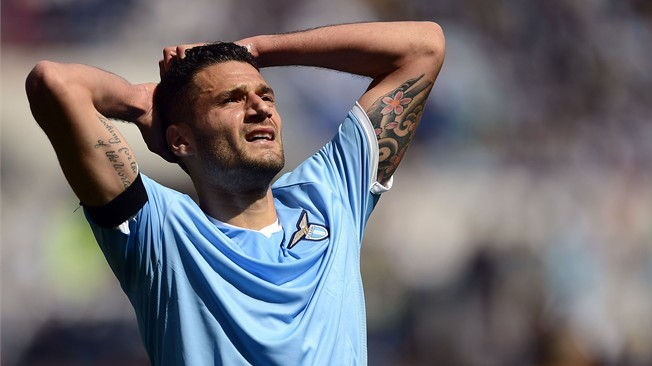 Lazio president Claudio Lotito has insisted that midfielder Antonio Candreva is not for sale.
