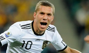 Arsenal star Lukas Podolski believes that Arsenal can compete with the top teams in the new campaign
