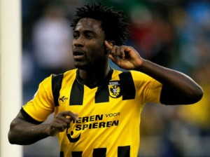 Vitesse Arnhem striker Wilfried Bony is just one of the Eredivisie stars on Premier League clubs radars this summer