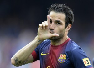 Manchester United have bid £25million for former-Arsenal ace Cesc Fabregas