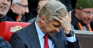 Arsenal boss Arsene Wenger has come under increased pressure after his club lost 3-1 at home to Aston Villa
