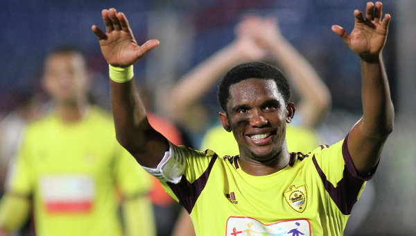 Chelsea F.C. have completed the signing of Samuel Eto'o from Russian Premier League strugglers Anzhi Makhachkala for an undisclosed fee.