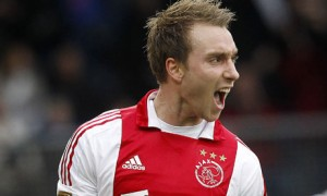 Denmark midfielder Christian Eriksen looks set to move to Tottenham