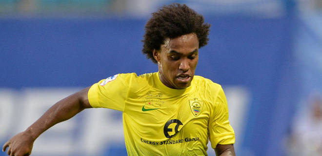FC Anzhi Makhachkala No. 10 Willian has confirmed his interest in moving to Anfield this summer.