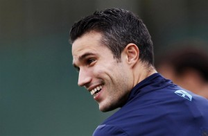 Manchester United striker Robin van Persie is the man to beat in the race for the Premier League top scorer this season