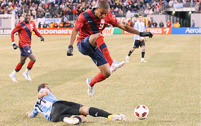 Stoke City F.C. have reached a pre-contract agreement with New England Revolution striker Juan Agudelo.