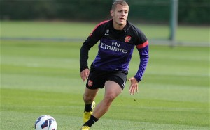 Arsenal and England midfielder Jack Wilshere is hoping for an injury-free season