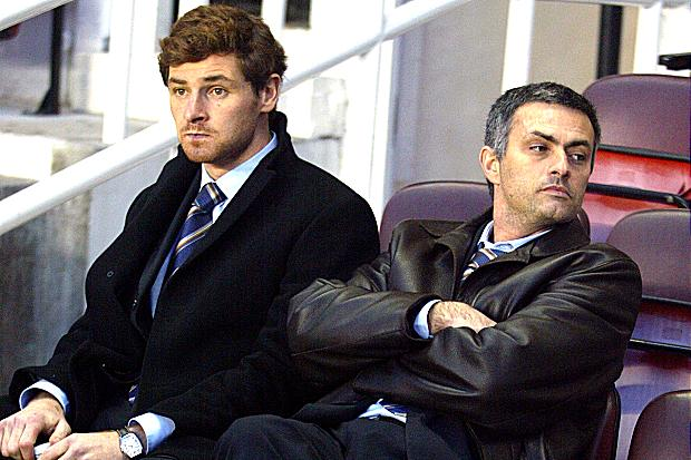 Andre Villas-Boas and Jose Mourinho will face each other for the first time in the English Premier League this weekend.