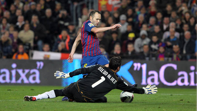 Valencia CF goalkeeper Diego Alves is flattered by speculation linking him with a move to FC Barcelona.