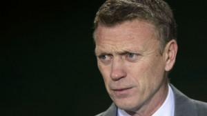 Manchester United boss David Moyes saw his side suffer a 2-1 defeat to West Brom on Saturday