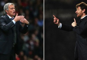 Jose Mourinho and former-friend Andre Villas-Boas come up against each other for the first time opposing dugouts on Saturday lunchtime