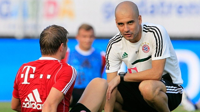 Pep Guardiola says Bayern Munich gave great first impression - video