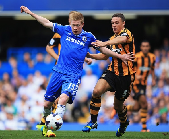 Chelsea winger Kevin De Bruyne remains calm over his future at Stamford Bridge amid speculation linking him with a January move to Wolfsburg.