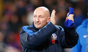 Crystal Palace boss Ian Holloway is under-pressure after his side suffered a 4-1 defeat at home to Fulham