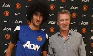 Marouane Fellaini is claiming that he turned down a move to Arsenal to  sign for David Moyes' Manchester United