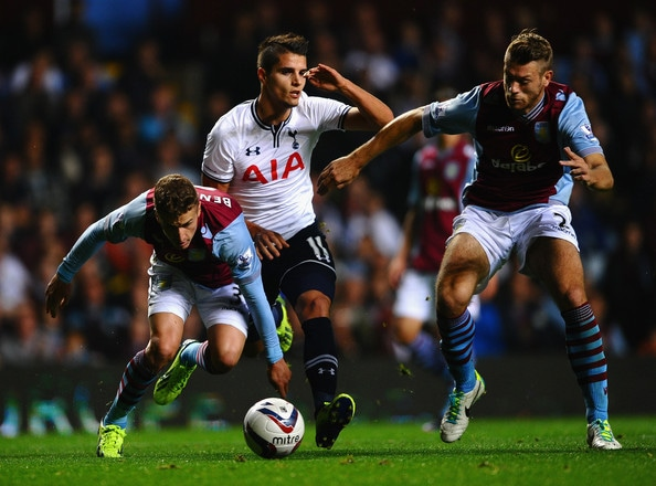 Tottenham Hotspur will look to go level on points with fourth-placed Manchester City when they face Aston Villa at Villa Park on Sunday.