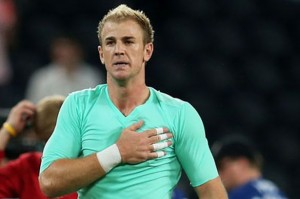 Joe Hart's place in Manchester City's team has been questioned after a number of high-profile mistakes this season