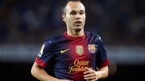 Barcelona midfielder Andres Iniesta is being linked with a move to Manchester United in January
