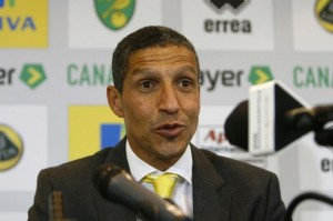 Chris Hughton's Norwich face West Ham on Saturday evening in a vital clash for the Canaries