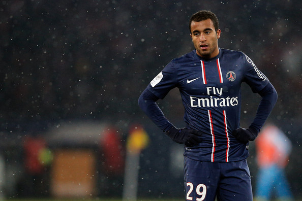 Paris Saint-Germain midfielder Lucas Moura is very happy with his current situation at the Parc des Princes.