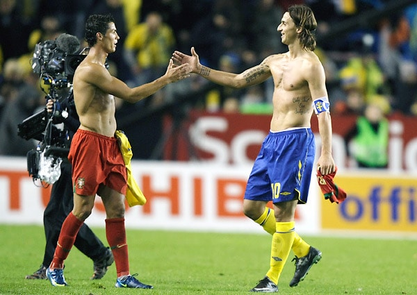 Portugal will entertain Sweden in the 2014 World Cup qualifying play-offs at the Estadio da Luz in Lisbon on Friday, Novemeber 15 2013.