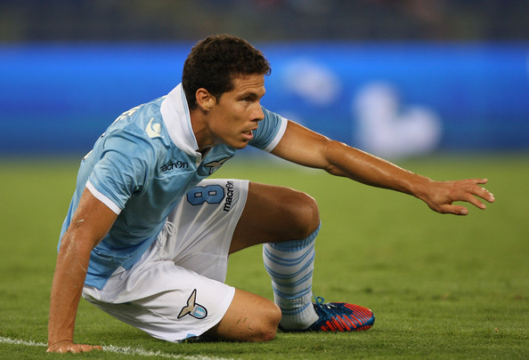S.S. Lazio midfielder Hernanes has moved to play down reports linking him with a January exit from the Stadio Olimpico.
