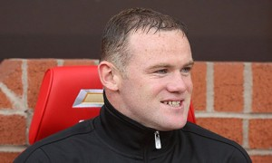 Manchester United striker Wayne Rooney is smiling again after hitting a good run of form