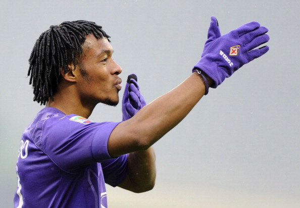 ACF Fiorentina winger Juan Cuadrado has dismissed reports suggesting Barcelona have been in contact with him regarding a potential move in the January transfer window.
