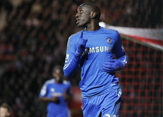 Chelsea striker Demba Ba has moved to rubbish reports linking him with a January move to Arsenal.