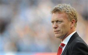 Manchester United boss David Moyes endured a difficult night on Wednesday, as former-club Everton won 1-0 at Old Trafford