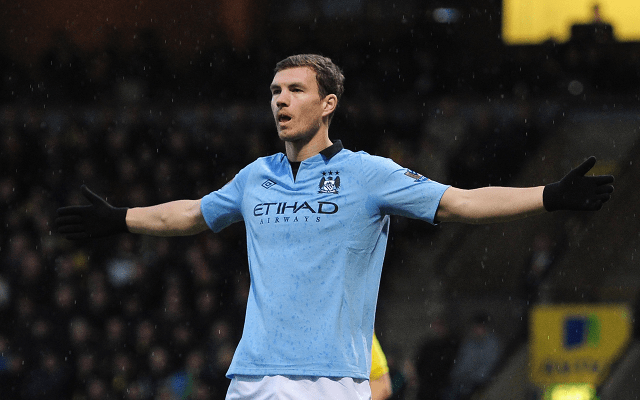 Manchester City manager Manuel Pellegrini has ruled out the possibility of selling Edin Dzeko when the transfer window re-opens in January.