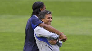 Jose Mourinho and Didier Drogba will be reunited in the last 16 of the Champions League as Chelsea face Galatasaray