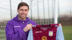 Veteran striker Grant Holt joined Aston Villa from Championship Wigan on-loan for the rest of the season