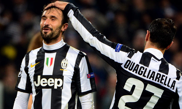 Juventus director general Beppe Marotta has revealed he would allow Fabio Quagliarella and Mirko Vucinic to leave Turin in the January transfer window.