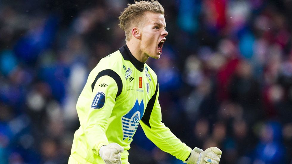 Molde FK goalkeeper Orjan Nyland has admitted he would be delighted to link-up with former manager Ole Gunnar Solskjaer at Cardiff City.