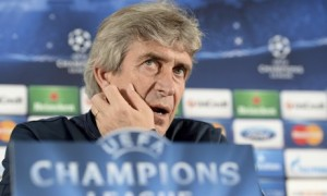 Manchester City boss Manuel Pellegrini will be looking to mastermind a victory over Barcelona in the Champions League