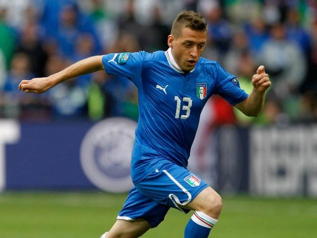 Sunderland A.F.C. winger Emanuele Giaccherini has insisted he is 'happy' at the club despite not featuring in the English Premier League since New Year's Day.