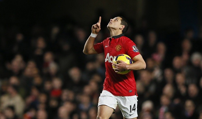 The agent of Manchester United striker Javier 'El Chicharito' Hernandez has denied reports linking the 25-year-old with a summer move to Inter Milan.