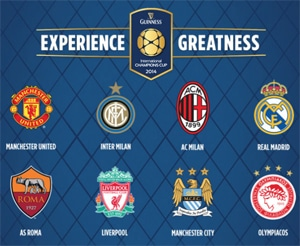 International Champions Cup USA 2014