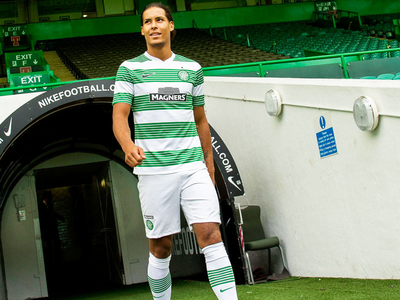 Celtic F.C. centre-back Virgil van Dijk has rubbished reports linking him with a summer move to the English Premier League.