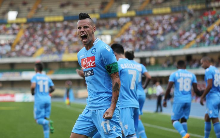 S.S.C. Napoli president Aurelio de Laurentiis has played down reports linking Marek Hamsik with a summer exit from the Stadio San Paolo.