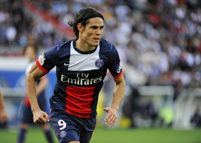 Paris Saint-Germain record signing Edinson Cavani has hinted he could leave the club in the summer if he continues to play on the right wing.