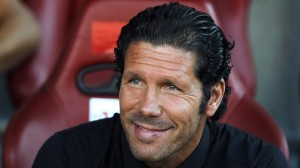 Atletico Madrid boss Diego Simeone could achieve an unlikely double of La Liga and Champions League this season