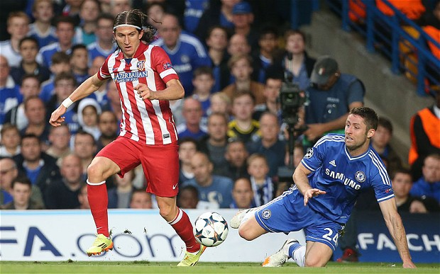 Chelsea F.C. are reportedly planning a £16.5 million summer swoop for highly-rated Atletico Madrid left-back Filipe Luis in the summer.