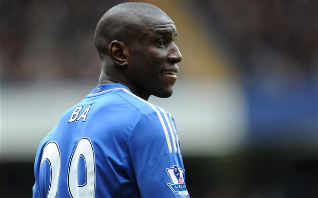 Chelsea F.C. striker Demba Ba intends to stay at Stamford Bridge next season amid rumours linking him with a return to Newcastle United.