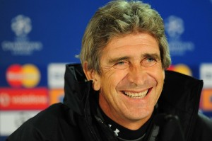 Manchester City boss Manuel Pellegrini claimed his first ever league title in European football yesterday