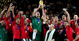 Can Spain repeat their heroics of four years ago and become the first European country to win a World Cup on South American soil?