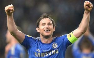 England midfielder Frank Lampard is set to leave Chelsea this summer after 13 trophy-laden years